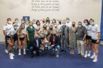 El Cabildo agasaja al Gran Canaria Urbaser de voleibol femenino tras conquistar la Supercopa VB Iberdrola