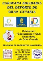 Federaciones, clubes y deportistas participan este sábado en la Caravana Solidaria del Deporte de Gran Canaria